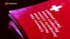 Video «Enkel von Einwanderern sollen in der Schweiz mitbestimmen können» abspielen