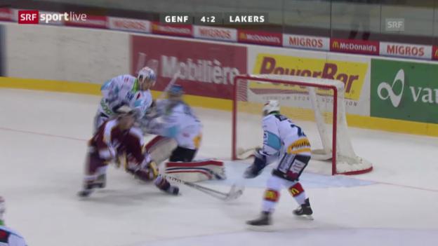 Video «Eishockey: Genf - Lakers» abspielen