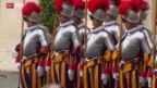 Video «Höhepunkt der Walliser Reise in den Vatikan» abspielen