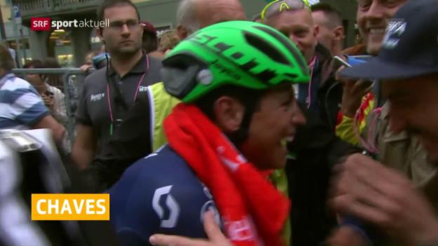 Video «Chaves gewinnt Lombardei-Rundfahrt» abspielen