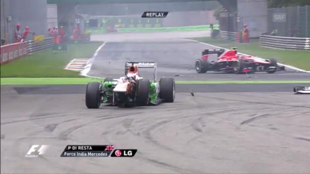 Video «Formel 1: GP Italien: Der Start («sportlive»)» abspielen