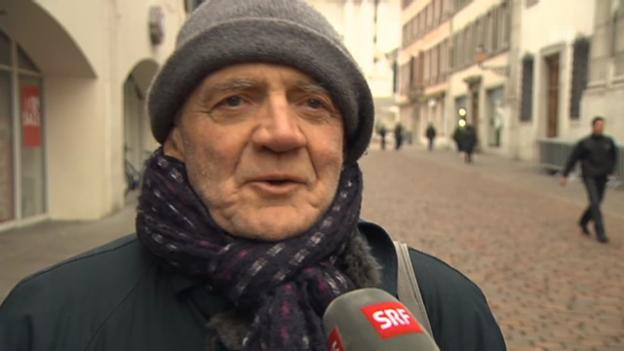Video «Bruno Ganz über sein Engagement in «Nachtzug nach Lissabon»» abspielen