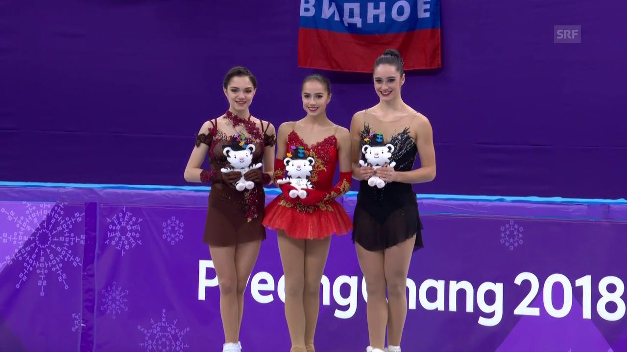Sagitowa holt Gold im Eiskunstlauf