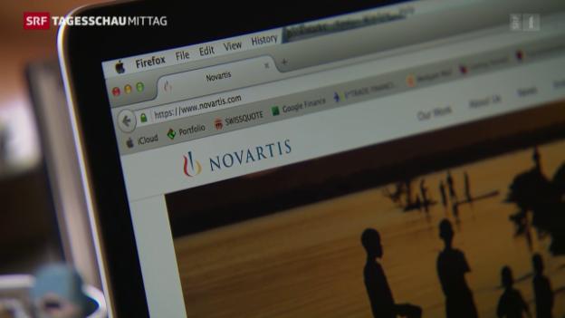 Video «Novartis entsteht vor 20 Jahren» abspielen