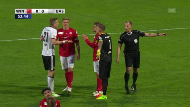 Video «Penalty-Entscheid für FCB wirft hohe Wellen» abspielen