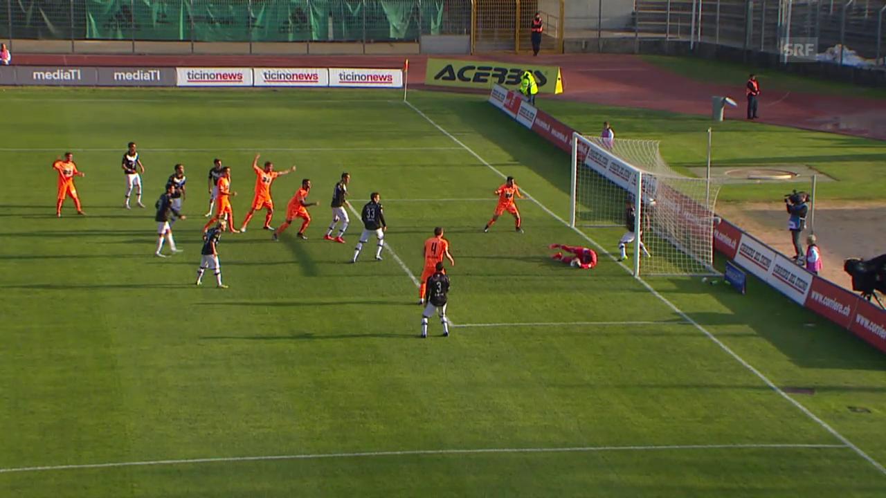 Fussball: Eigentor Lugano