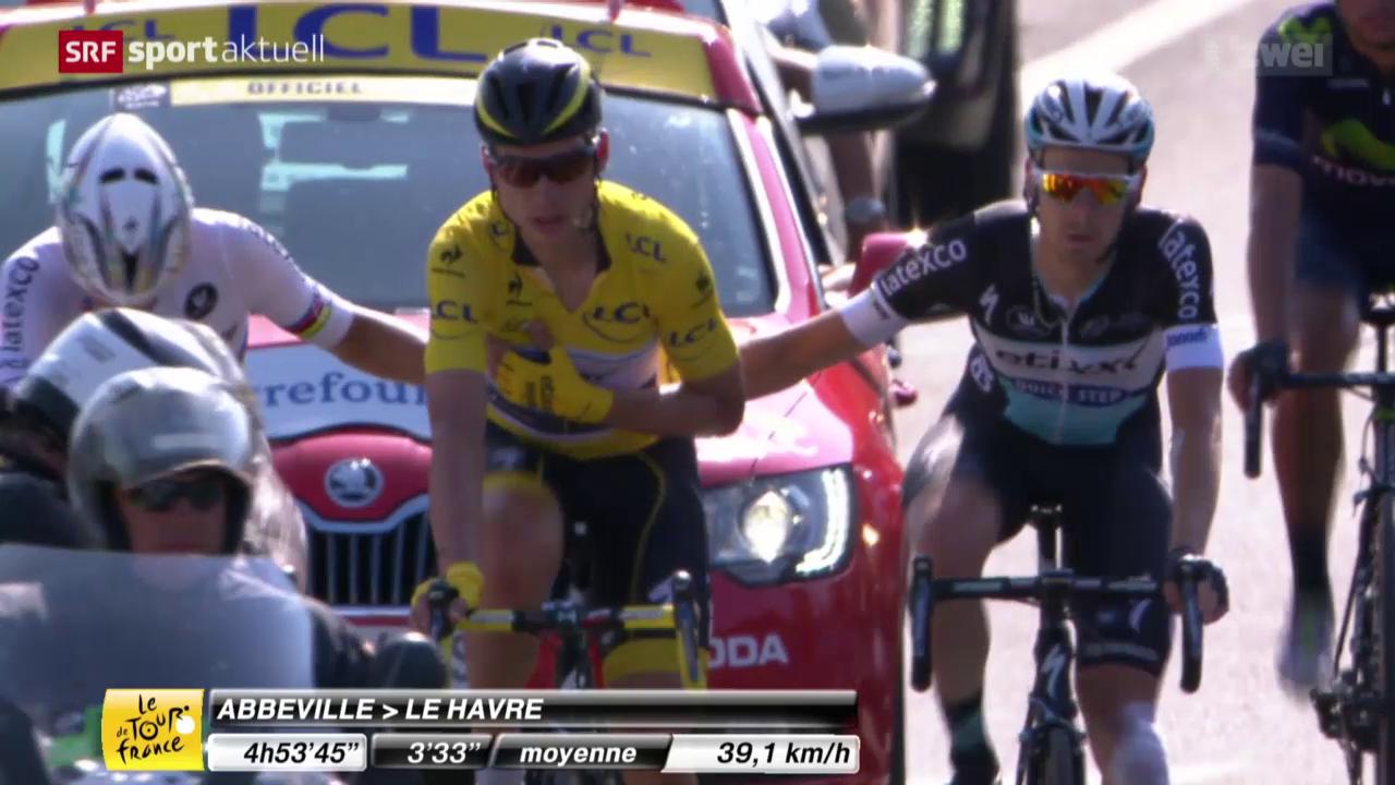 Rad: Tour de France, 6. Etappe