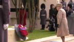 Video «Queen eröffnet «Flanders Fields»-Gedenkgarten» abspielen