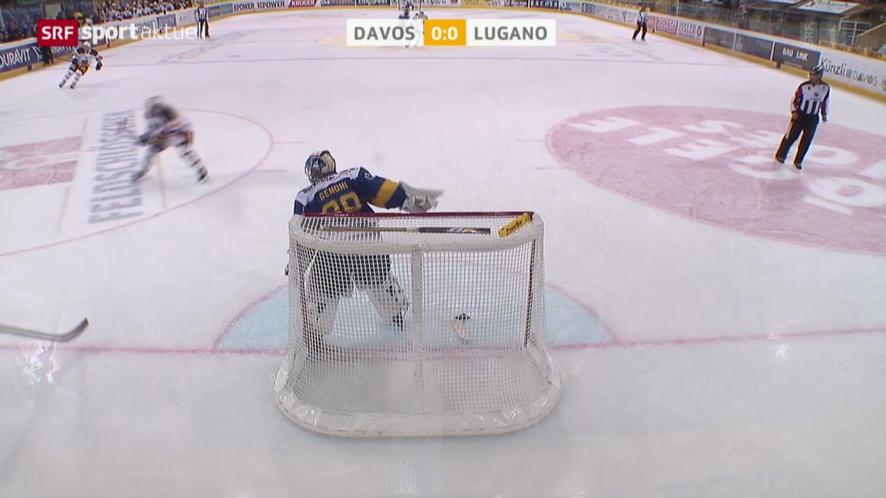 Eishockey: NLA, Davos - Lugano