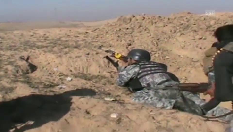 Start der Offensive in Tikrit (unkommentiert)