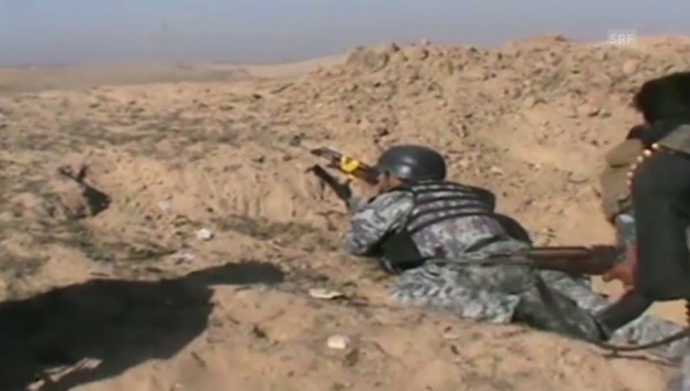 Video «Start der Offensive in Tikrit (unkommentiert)» abspielen