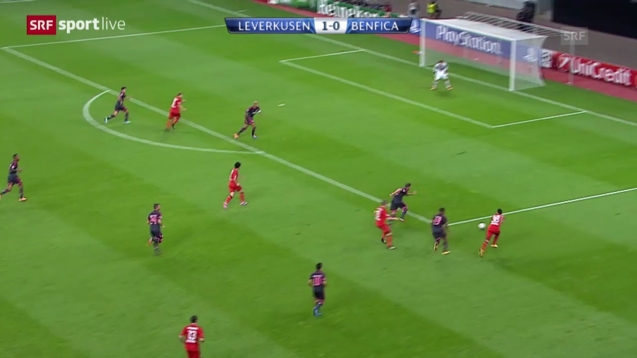 Fussball: CL, Leverkusen - Benfica