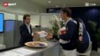 Video «Tennis: Was rund um das Swiss Indoors noch alles passiert» abspielen