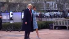 Link öffnet eine Lightbox. Video Trump und Gattin bei St. John Kirche angekommen abspielen