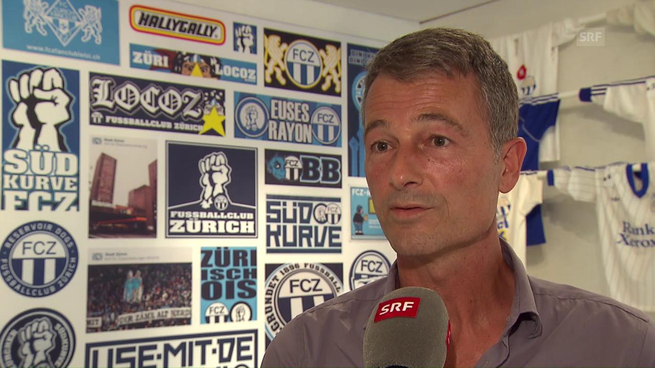 FCZ-Sportchef Bickel enttäuscht über EL-Auslosung