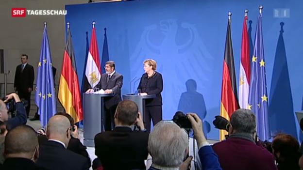 Video «Mursi bei Merkel» abspielen