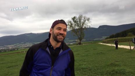 Video ««Ready, Steady, Golf!»: Sch****-Talk mit Anic und Sandro» abspielen