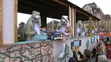 Video «Basler Fasnacht 2009» abspielen