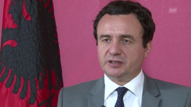 Video «Albin Kurti zum Dialog mit Serbien» abspielen