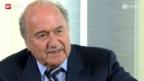 Video «Kampf ums FIFA-Präsidium: Freie Bahn für Sepp Blatter?» abspielen