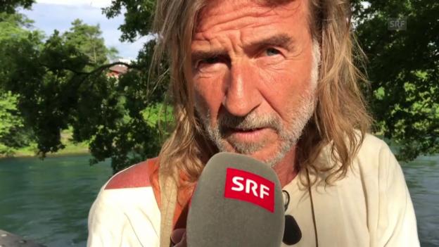 Video «Ralph Wicki muss Pause machen» abspielen