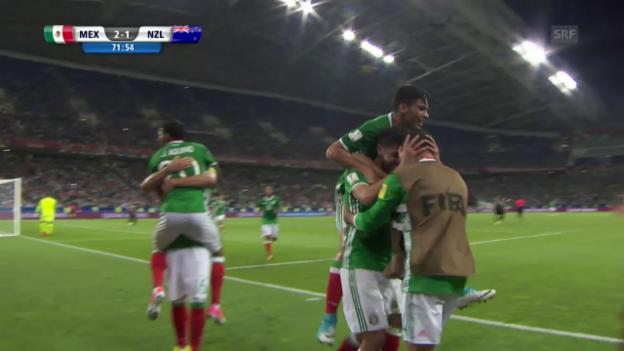 Video «Live-Highlights Mexiko - Neuseeland» abspielen