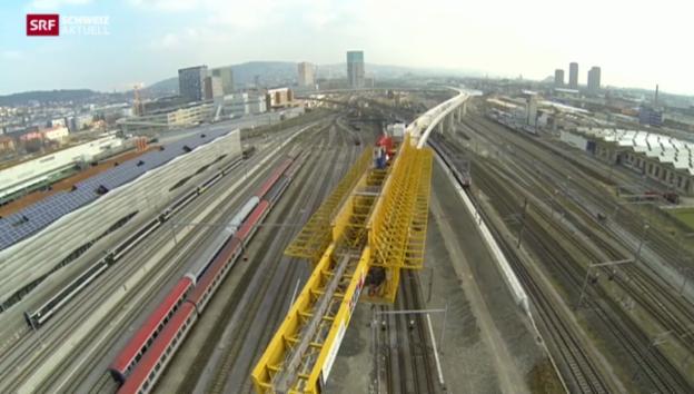 Video «Brückenmonster in Zürich» abspielen