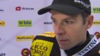Video «Eishockey: NLA, SCB - ZSC, Interview mit Martin Plüss» abspielen