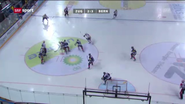 Eishockey: Zug - Bern («sportaktuell»)