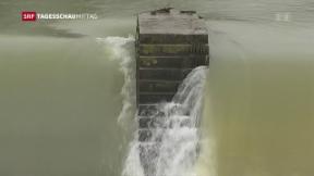 Video «Wetter-Alarm in der Schweiz» abspielen