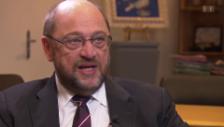 Video ««Ich habe in meinem Leben selten einen solchen Zynismus erlebt», sagt Martin Schulz, Präsident des Europaparlamentes» abspielen