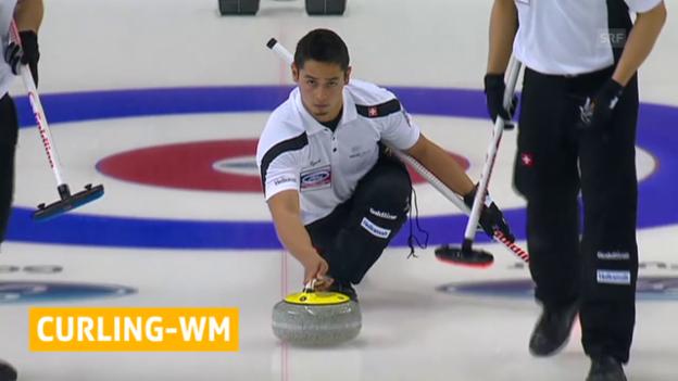 Video «Curling: Schweiz scheidet an WM aus» abspielen