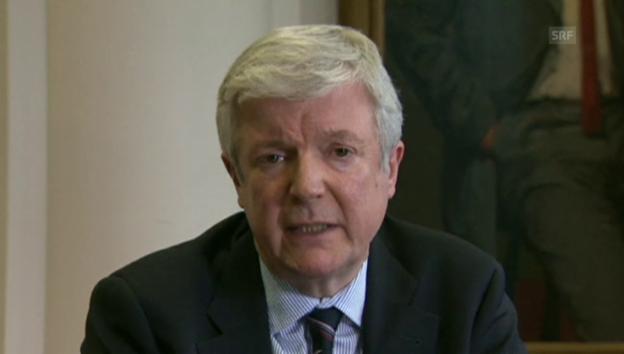Video «BBC-Generaldirektor Tony Hall über Jeremy Clarkson» abspielen
