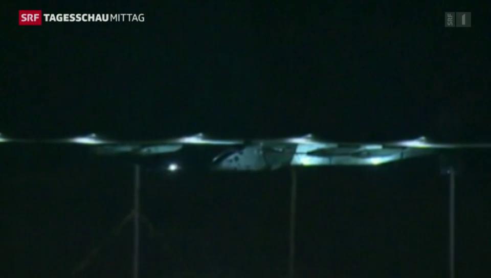 Solar Impulse 2: Der 19-Stunden-Flug