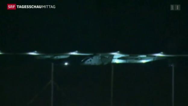 Video «Solar Impulse 2: Der 19-Stunden-Flug» abspielen