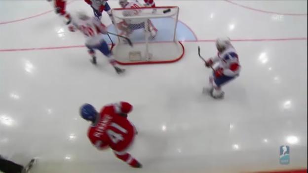 Video «Eishockey: WM 2013, Vorrunde, Tschechien-Norwegen 7:0» abspielen