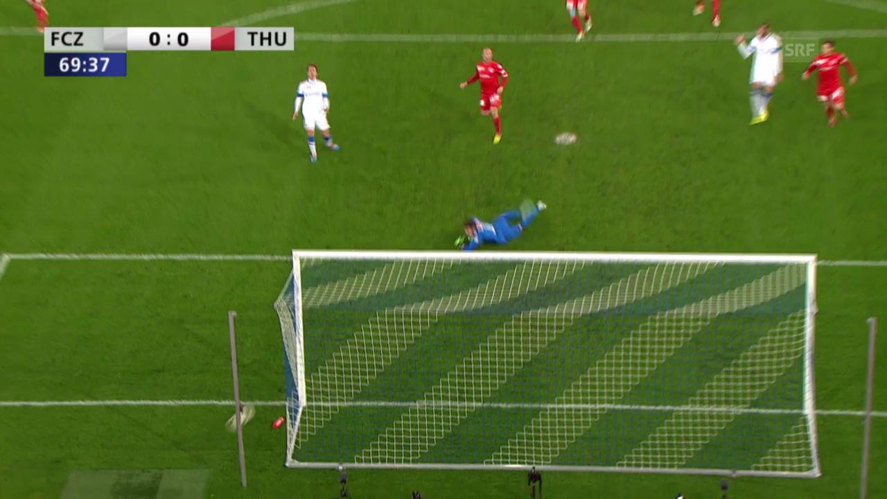 Fussball: Cup-Halbfinal, Highlights Zürich - Thun («sportlive»)