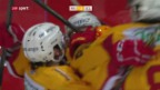 Video «Last-Minute-Tor beschert den Tigers 3 Punkte» abspielen