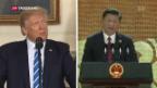 Video «USA versus China: Fortschritte im Handelsstreit» abspielen
