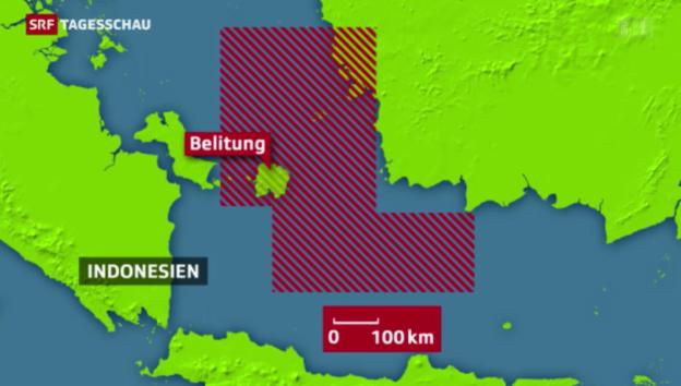 Video «Air-Asia-Flugzeug weiter verschollen» abspielen