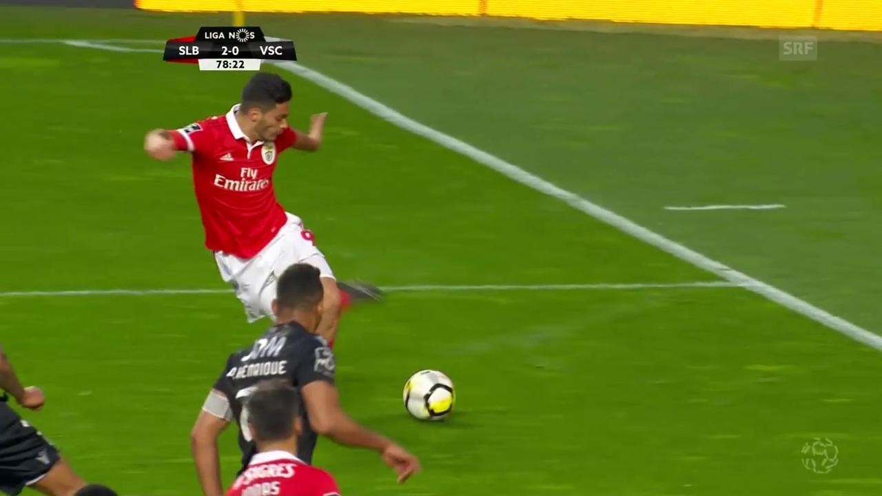 Benfica gewinnt dank zwei Jonas-Toren