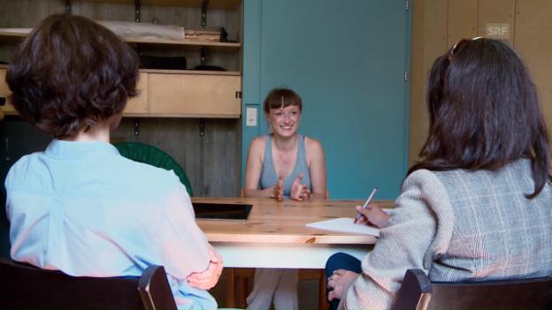 Video «Bangen in der Prüfungszeit – Marie und Dominic (Folge 5 - Dreizehn Schauspielschüler)» abspielen
