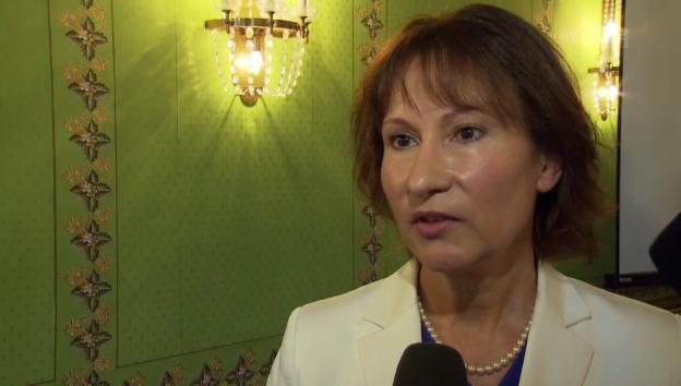 Video «BKW-CEO Suzanne Thoma zum Rückbau des AKW» abspielen