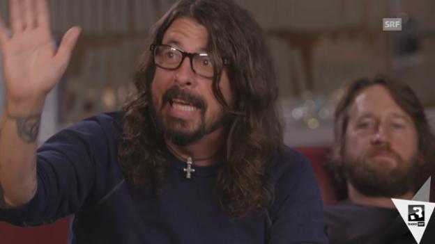 Video «Dave Grohl: «Tut mir leid, liebe Schweiz!»» abspielen