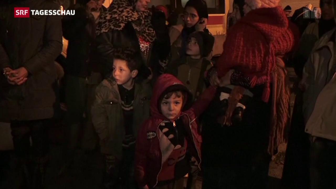 Hilfsgüter in Madaya verteilt