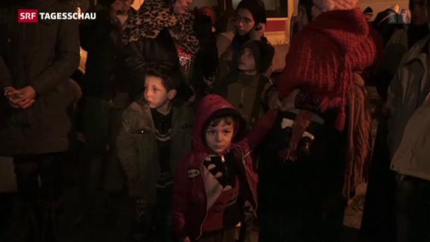Video «Hilfsgüter in Madaya verteilt» abspielen