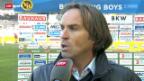 Video «SL: Stimmen zu YB - St. Gallen» abspielen