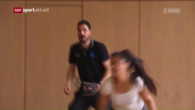 Video «GC und Köniz duellieren sich um den Meistertitel» abspielen