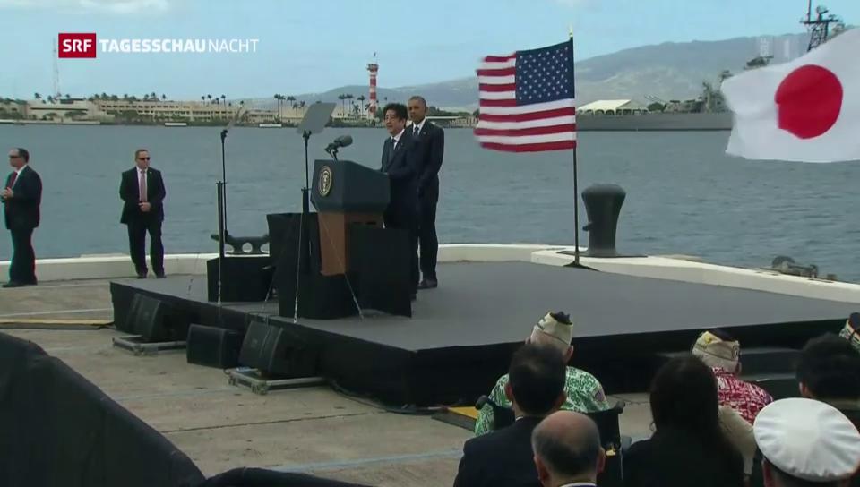 Versöhnung in Pearl Harbour
