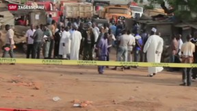 Video «30 Tote bei Anschlag in Nigeria» abspielen